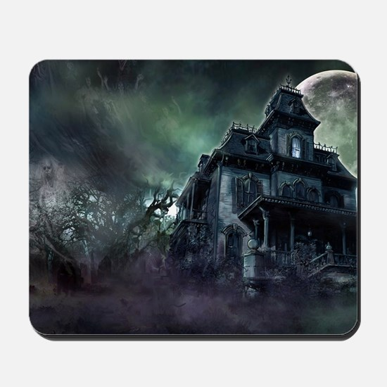 The Haunted House Mousepad