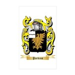 Parkins Sticker (Rectangle 50 pk)
