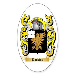 Parkins Sticker (Oval)
