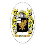Parkins Sticker (Oval 50 pk)
