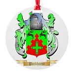 Parkhurst Round Ornament