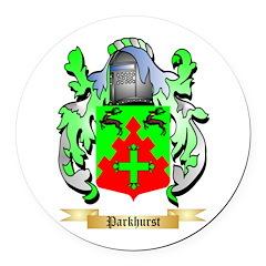 Parkhurst Round Car Magnet