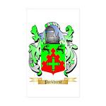 Parkhurst Sticker (Rectangle 50 pk)