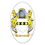 Parkes Sticker (Oval 50 pk)