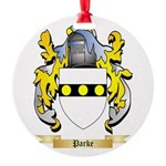 Parke Round Ornament