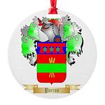 Pariss Round Ornament