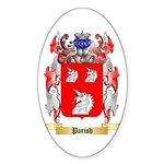 Parish Sticker (Oval)