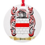 Pares Round Ornament