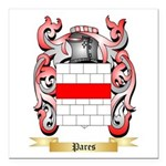 Pares Square Car Magnet 3
