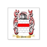 Pares Square Sticker 3