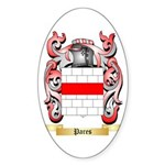 Pares Sticker (Oval 50 pk)