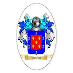 Paredes Sticker (Oval 50 pk)