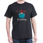 I Love Reading Dark T-Shirt