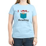 I Love Reading Women's Light T-Shirt