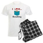 I Love Reading Men's Light Pajamas