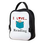 I Love Reading Neoprene Lunch Bag