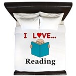 I Love Reading King Duvet