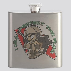 Airsoft Protect flag Flask