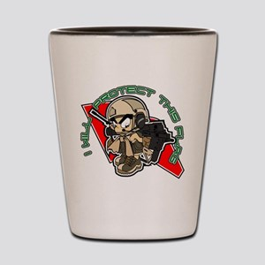 Airsoft Protect flag Shot Glass
