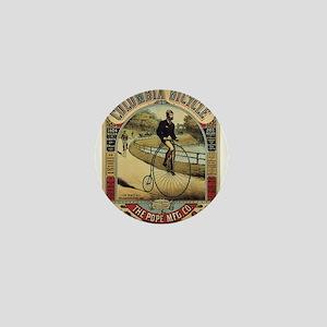 Vintage poster - Columbia Bicycle Mini Button