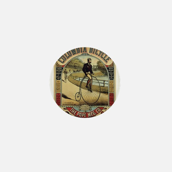 Vintage poster - Columbia Bicycle Mini Button