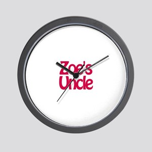 Zoe's Uncle Wall Clock