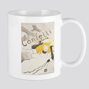 Vintage poster - Confetti Mugs