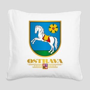 Ostrava Square Canvas Pillow