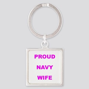 PROUD NAVY Keychains