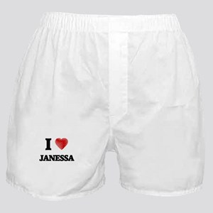 I Love Janessa Boxer Shorts