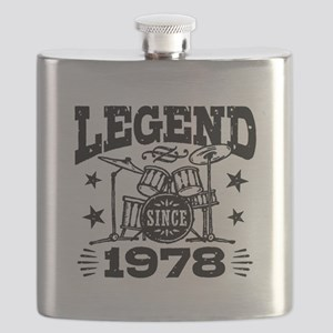 Legend Since 1978 Flask