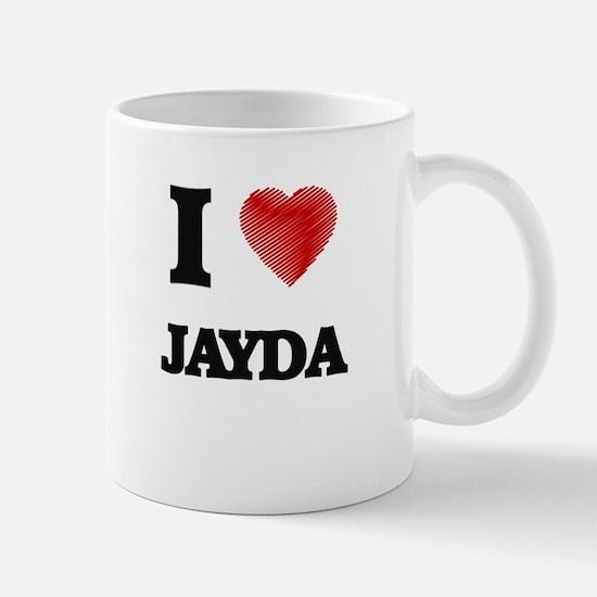 I Love Jayda Mugs