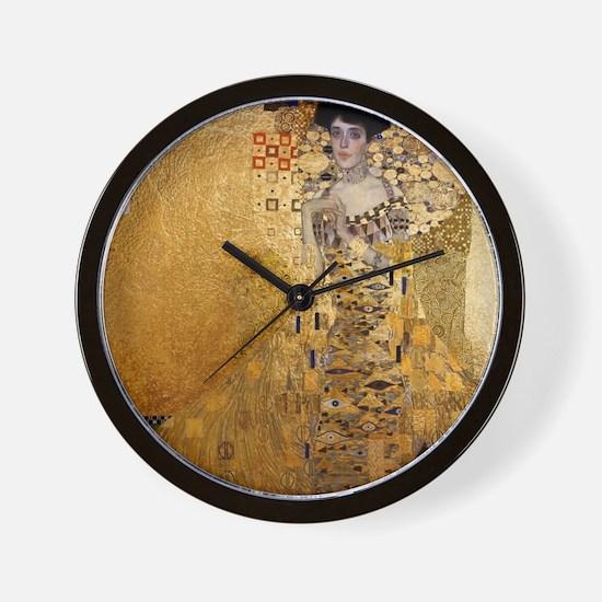 Cute Klimt Wall Clock