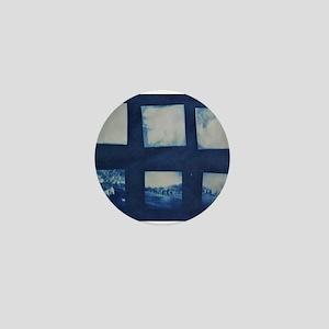Cyanotype - Holga Veteran's Day Photos Mini Button