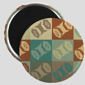 Concertina Pop Art Magnets