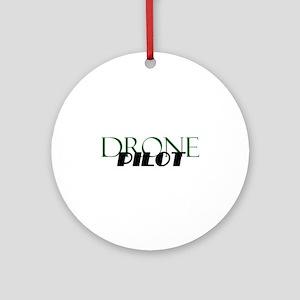 Drone Pilot Round Ornament
