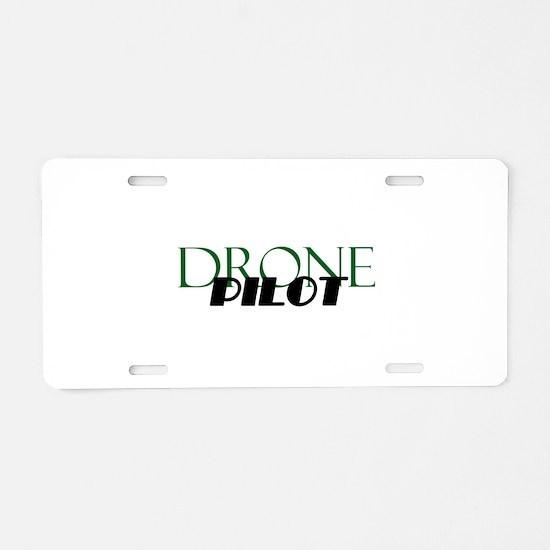 Drone Pilot Aluminum License Plate