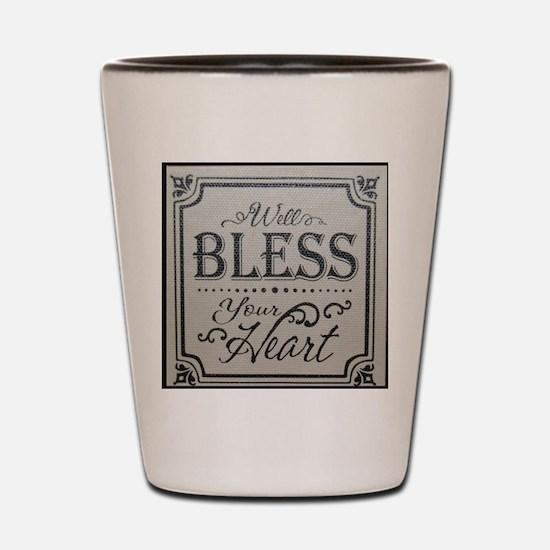 Cute Bless Shot Glass