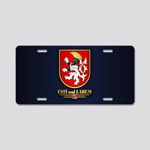 Usti nad Labem Aluminum License Plate