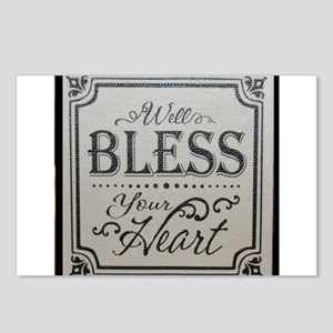 well bless your heart Postcards (Package of 8)