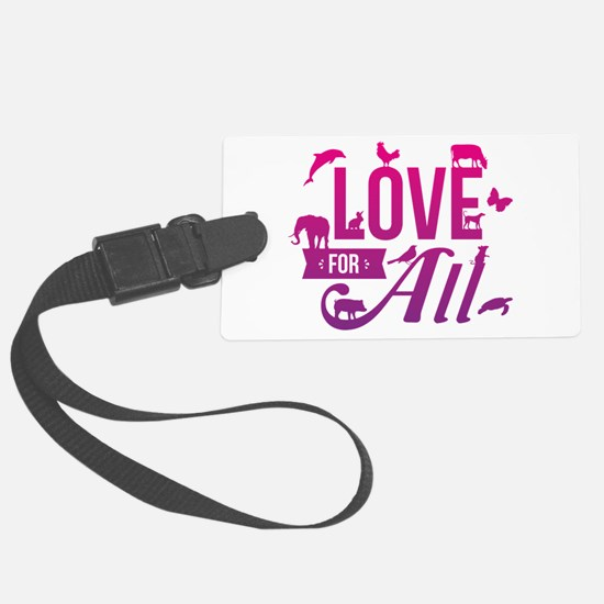 Love for All Luggage Tag
