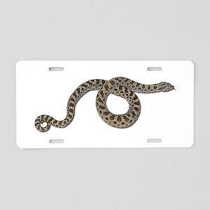 Hognose Snake Aluminum License Plate
