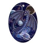 Celestial Dragon Oval Ornament