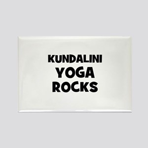 Kundalini Yoga Rocks Rectangle Magnet