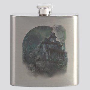 The Haunted House Flask