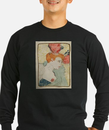 Vintage poster - Woman Long Sleeve T-Shirt