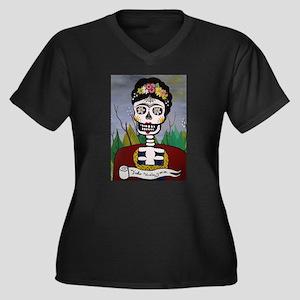 Frida's Dia De Los Muertos Plus Size T-Shirt