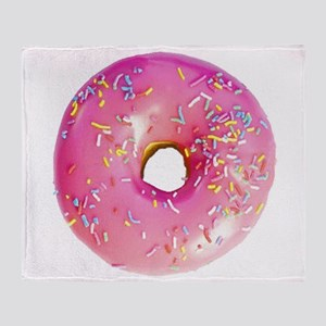 Doughnut Pink Lc Throw Blanket