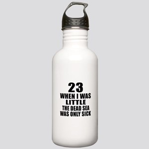 23 When I Was Little B Stainless Water Bottle 1.0L