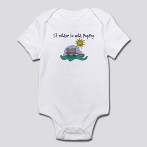 Rather be with PopPop Onesie